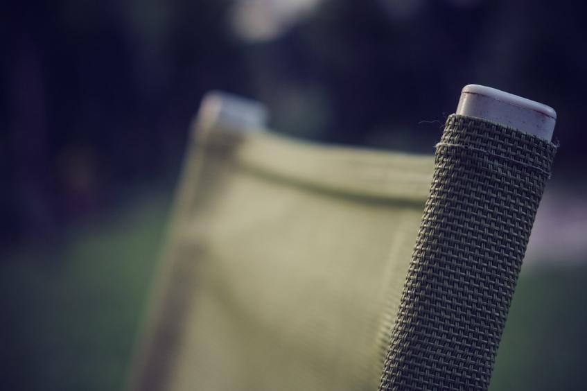 Muebles de textilene para invierno