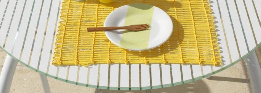 Mesa para hosteleria de cristal