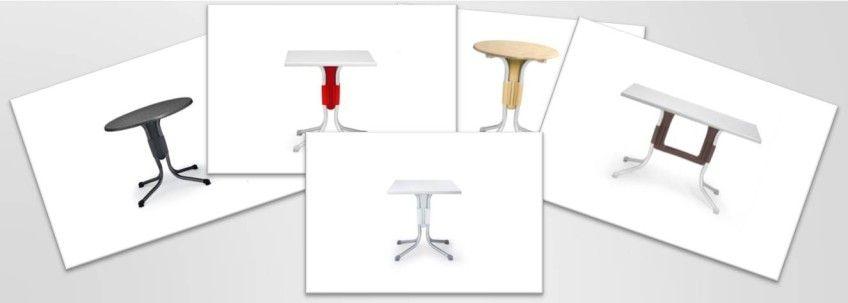 mesas para hosteleria plegables