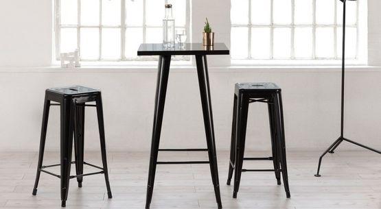 Mesas altas para hostelería