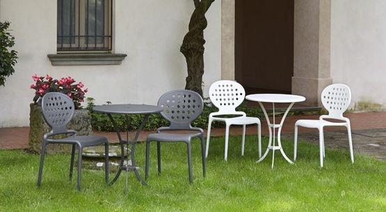 Mobiliario de terraza para cafetería