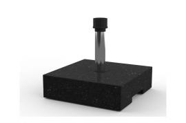 Base parasol cemento imitación granito
