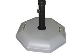 base parasol cemento gris 30kg