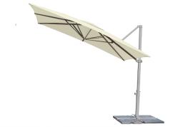 Parasol aluminio 3x3 Mastil lateral