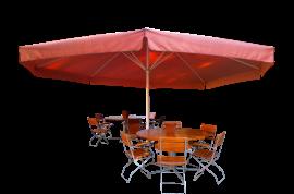 Sombrillas para terrazas de hosteleria