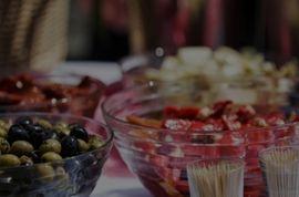 Mesas de catering plegables para hosteleria