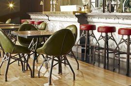 mobiliario vintage industrial hosteleria