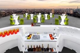 Muebles para discoteca para ocio diurno