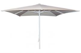 Parasol aluminio hosteleria 250x250