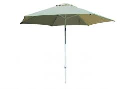 Parasol aluminio para hosteleria 2,5 beige