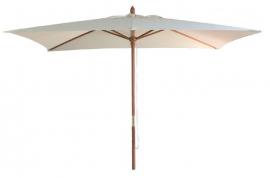 Parasol madera hosteleria 3x2 crudo