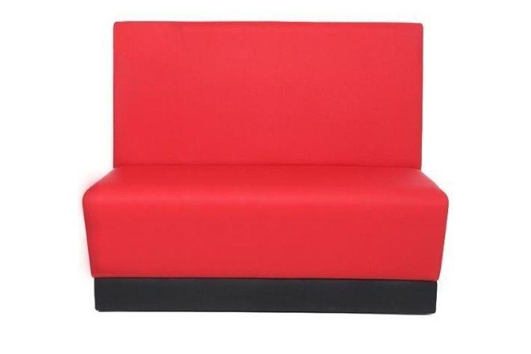Banco hosteleria Arlex rojo