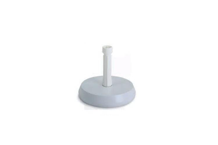 Base parasol cemento blanco 15