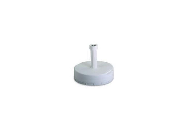 Base parasol cemento blanco 25