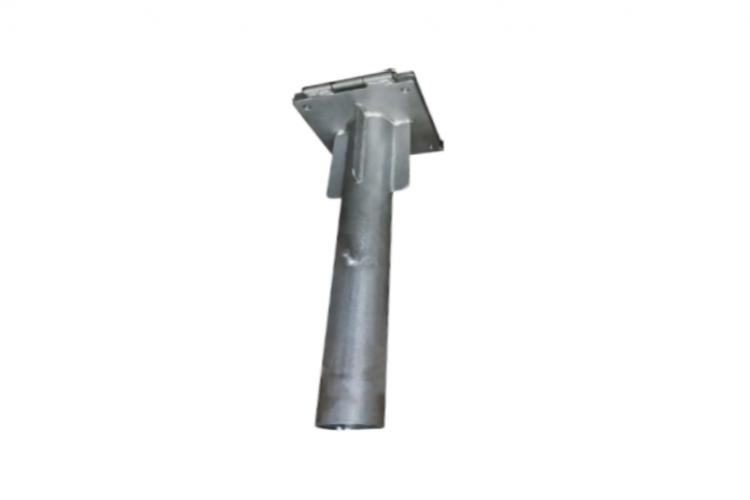 Base metálica empotrable galvanizada