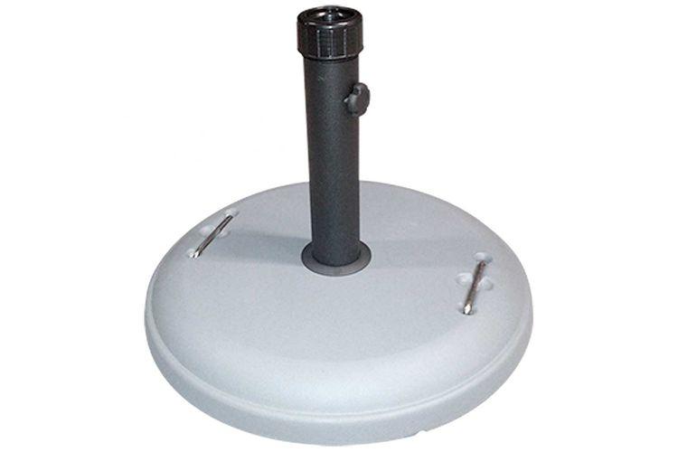 Base parasol cemento gris