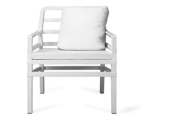 Butaca de diseño ARIA blanca