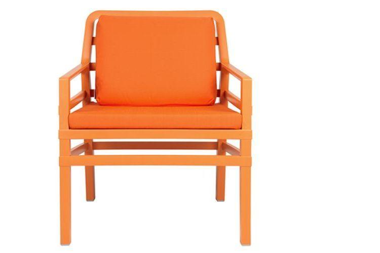 Butaca de diseño ARIA naranja