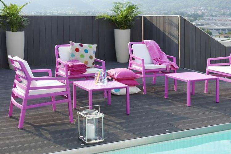 Butaca de diseño ARIA piscina