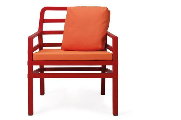 Butaca de diseño ARIA rojo