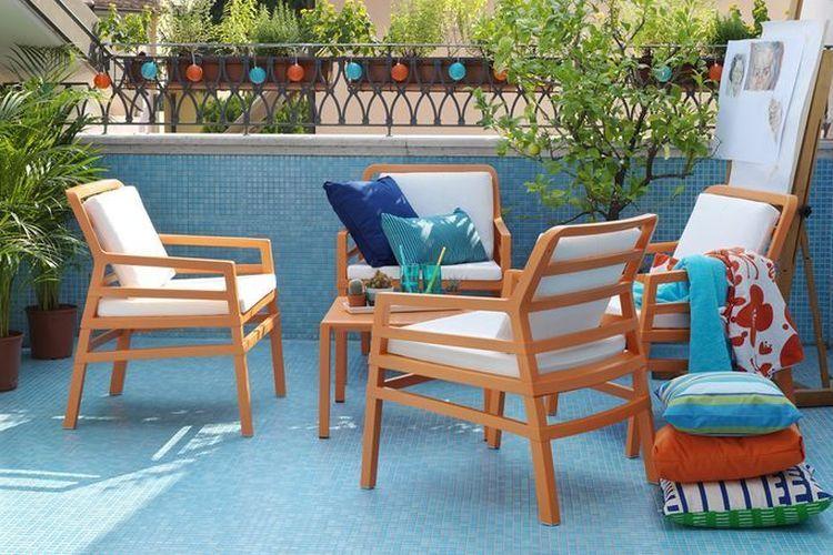 Butaca de diseño ARIA terraza