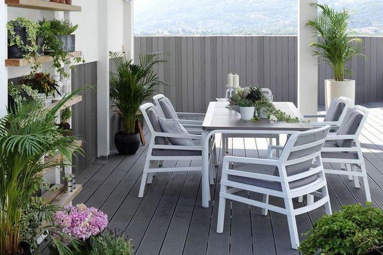 Butaca de diseño ARIA terraza porche