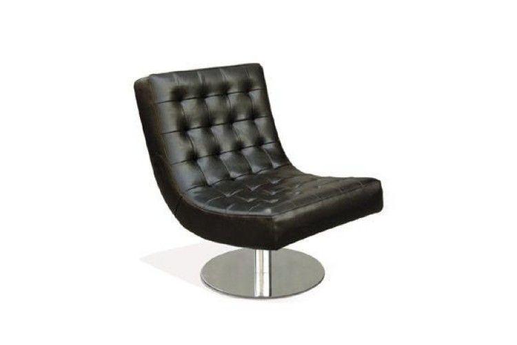 Butaca de diseño Portofino negra
