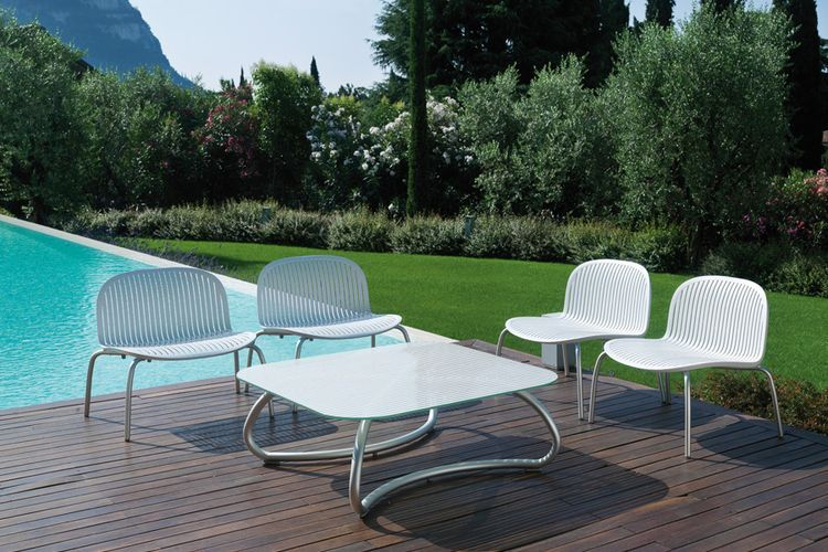 Butaca de diseño ninfea relax jardin