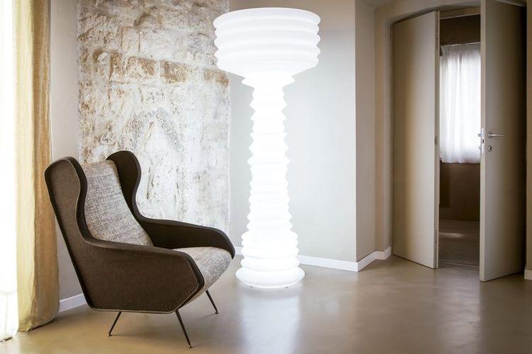 Lámpara con luz neón Andromeda hotel