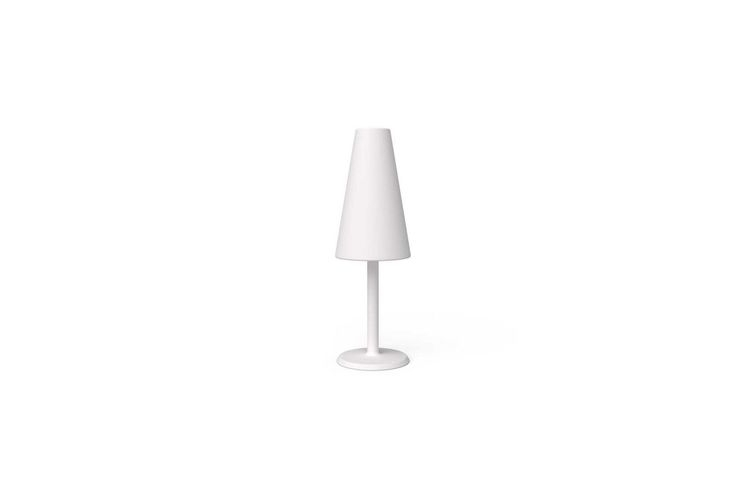Lámpara con luz LED Historie