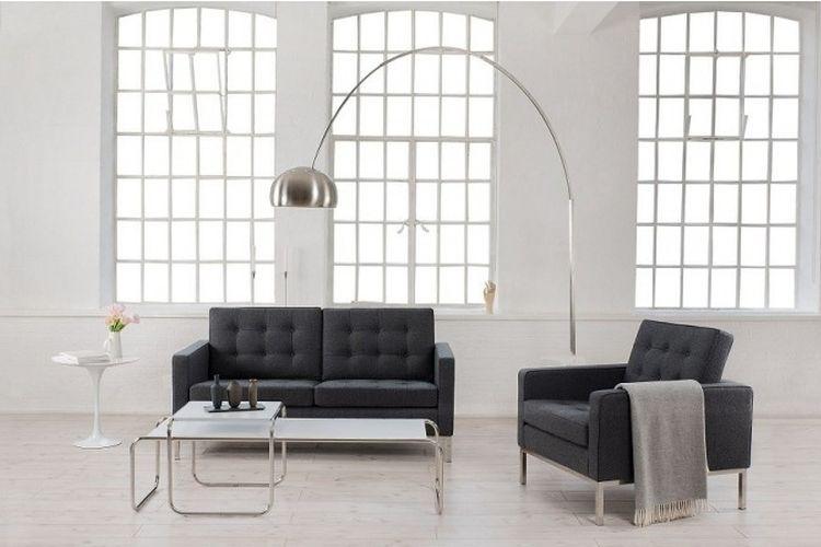 Lámpara de diseño New Arc Big interior