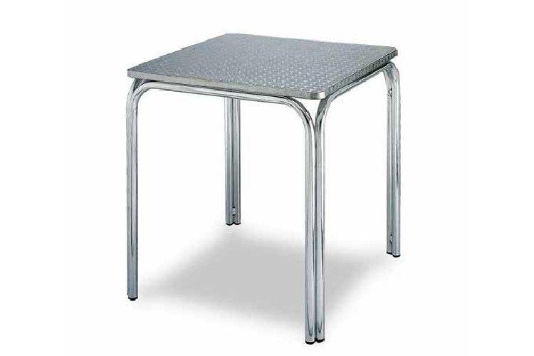 Mesa aluminio terraza