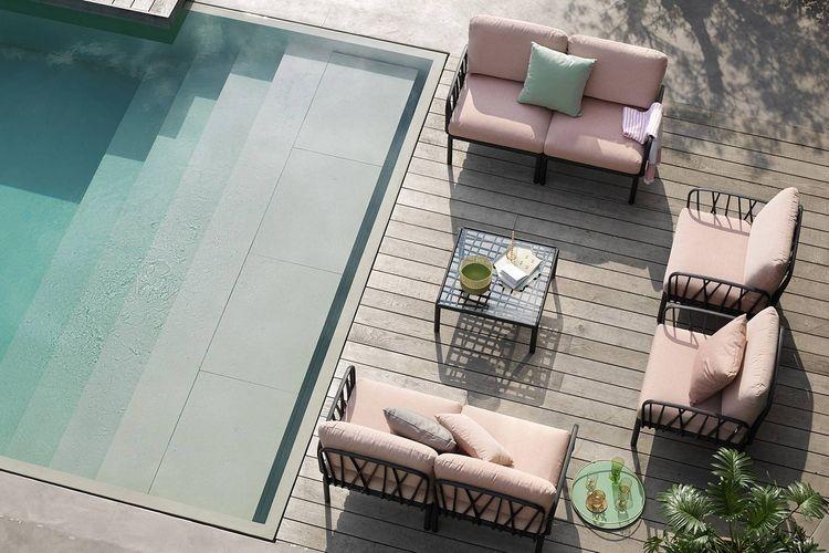 Mesa auxiliar hosteleria Komodo Wall hotel