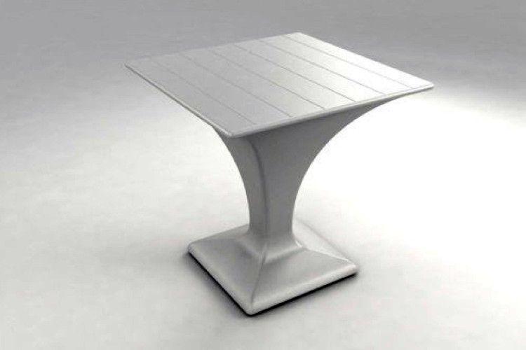 Mesa con luz Formentera