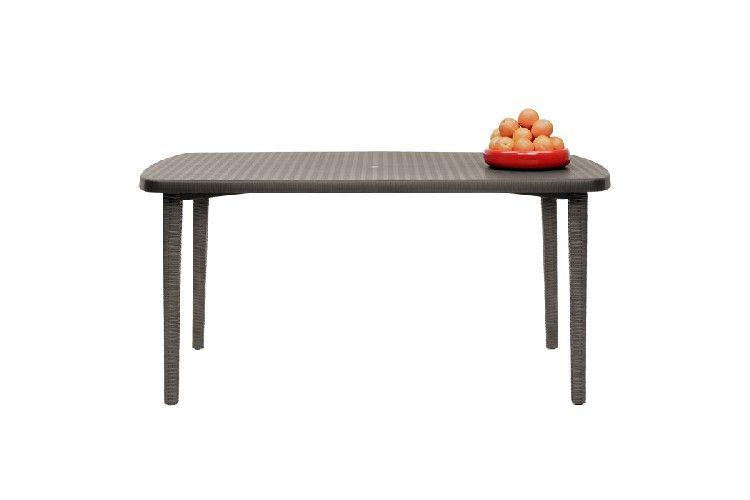 Mesa de diseño Orazio rectangular