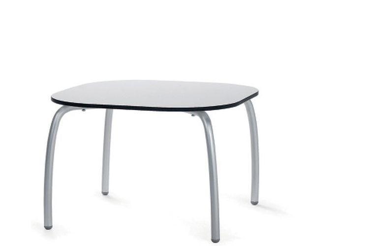 Mesa de exterior Loto Relax blanca