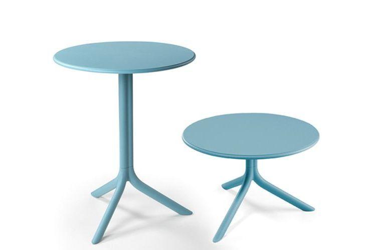 Mesa de exterior Spritz azul