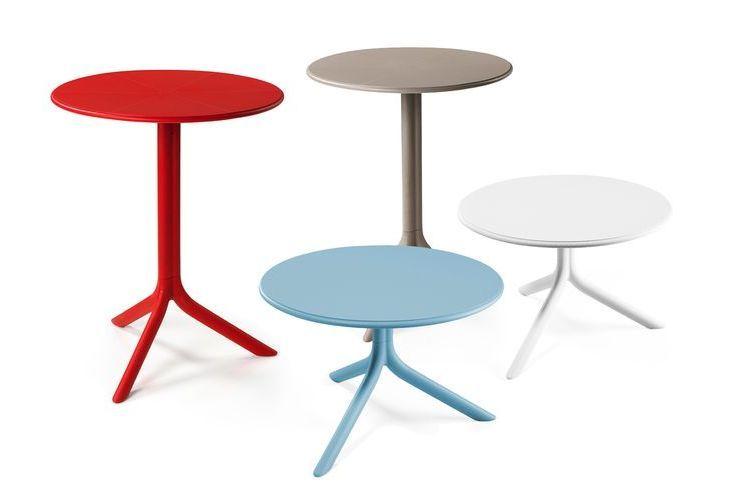 Mesa de exterior Spritz colores y estilos