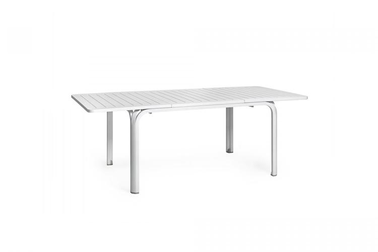 mesa para hosteleria extensible alloro 140 blanco