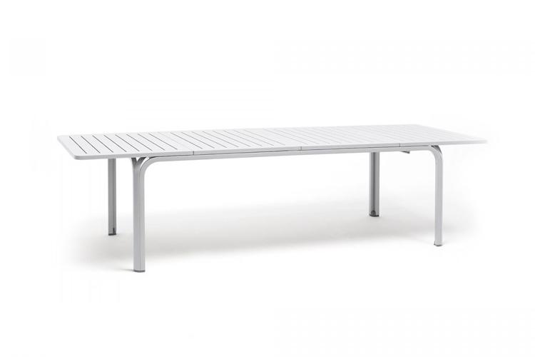 mesa para hosteleria extensible alloro 210 blanco