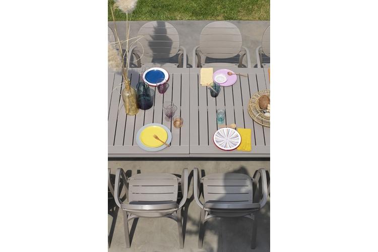 mesa para hosteleria extensible alloro 210 exterior