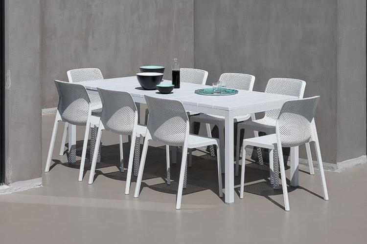 mesa para hosteleria extensible rio 140 ambiente lateral
