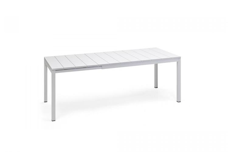 mesa para hosteleria extensible rio 140 blanca