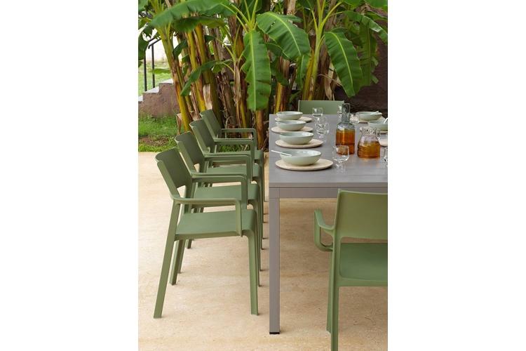 mesa para hosteleria extensible rio 210 detalle lateral