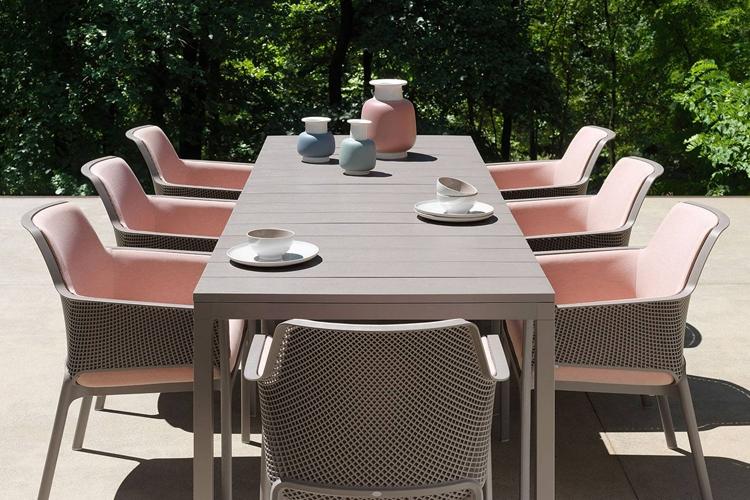 mesa para hosteleria extensible rio 210 ambiente