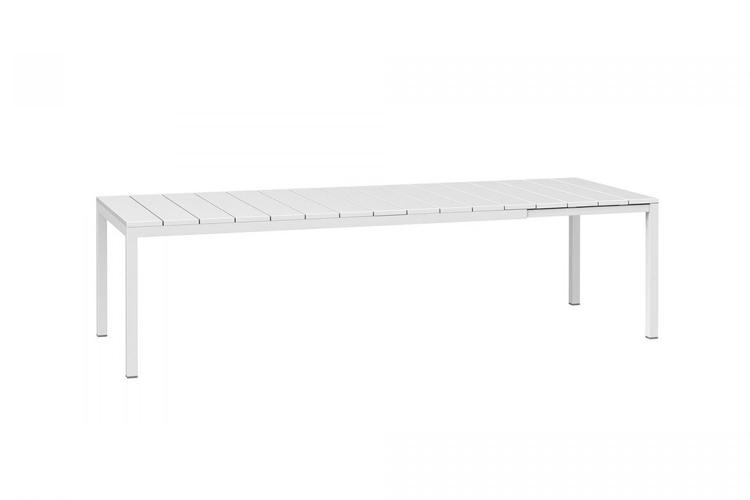 mesa para hosteleria extensible rio 210 blanco