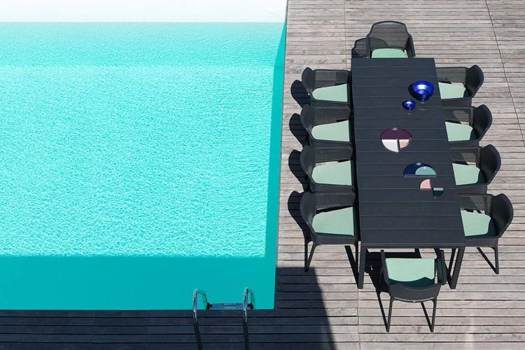 mesa para hosteleria extensible rio 210 exterior superior