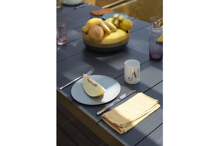 mesa para hosteleria extensible rio alu detalle