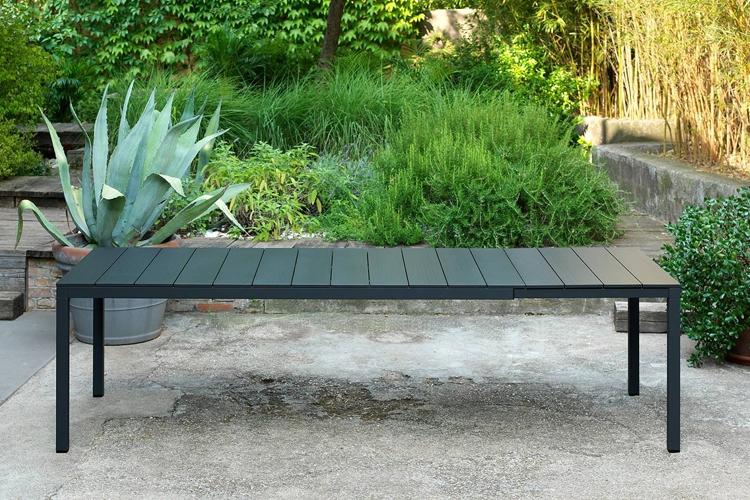 mesa para hosteleria extensible rio alu 210 ambiente abierta