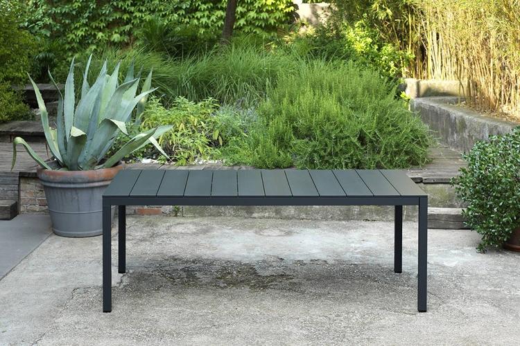 mesa para hosteleria extensible rio alu 140 ambiente abierta